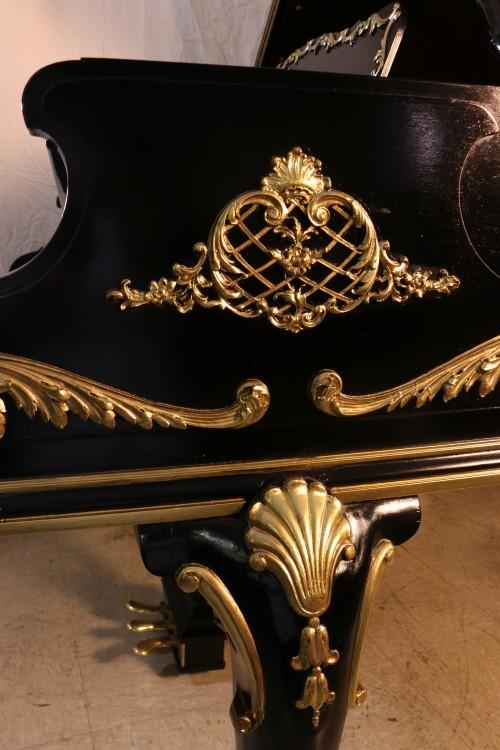 Luxury Art Case Steinway Model M Rare, Ornate Totally Rebuilt, Refinished & Restored