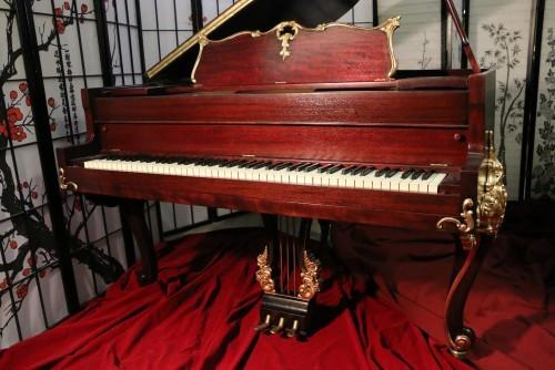 Wurlitzer Baby Grand Piano Gorgeous Art Case Refin./Refurbished
