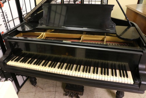 (WHOLESALE) Steinway A Grand Piano Art Case Tulip Legs Ebony 1893 $12,500