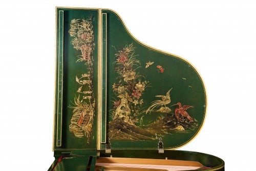 Chinoserie Luxury Art Case Piano Steinway M