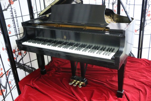 (SOLD)Steinway S Baby Grand Piano 5'1