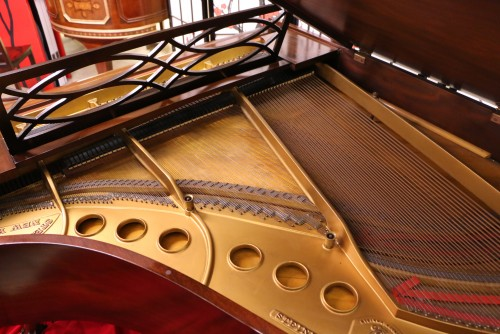 (SOLD) Art Case  Steinway M Chippendale Style, Gorgeous Mahogany, Reconditioned/ Refinished  $17,500.