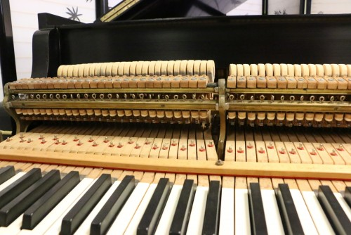(SOLD)Art Case Chippendale Steinway M 5'7