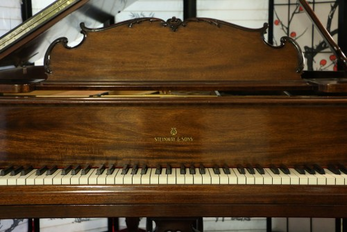 Luxury Art Case Steinway M King Louis XV 1930 Refinished/Restored walnut $25,500.