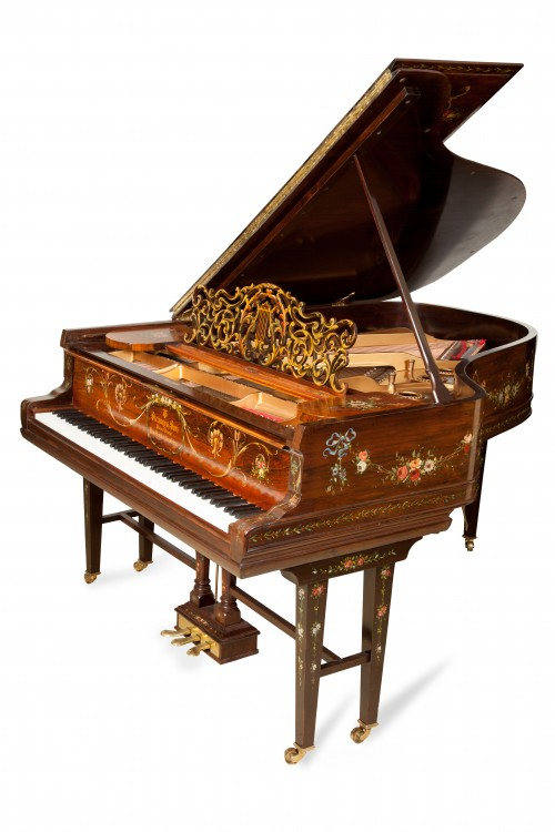 Art Case Steinway Featured in Newsday,  Article & Video Sonny's Million Dollar Art Case Steinway