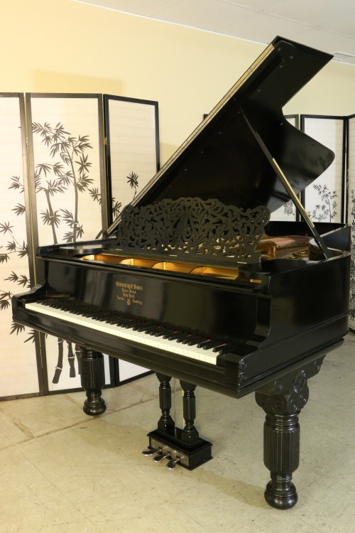 (SOLD) Luxury Piano Art Case Steinway C 7'5