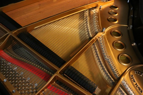 Steinway M Grand Piano Made in 2000, satin ebony, one private owner, lightly played. $29,500