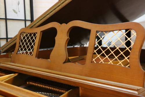 (SOLD) Art Case Knabe Baby Grand Piano, Gold Trim,