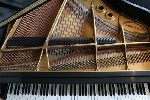 (SOLD) Steinway L Grand Piano 5'10.5