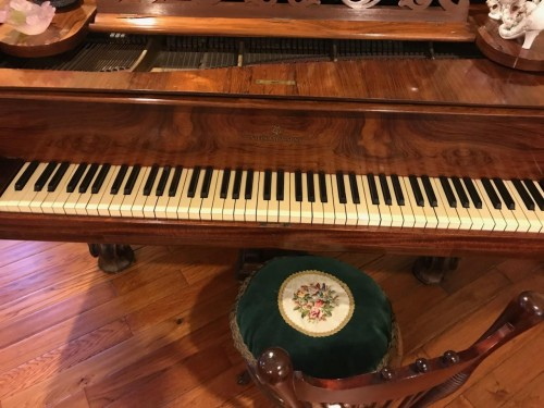 Art Case Steinway Model C Rocco Syle 1 Rosewood Made in 1873 $59,000