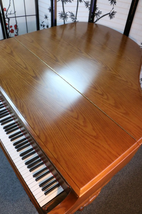 (SOLD) Art Case Young Chang Player Piano,1986, 5'2