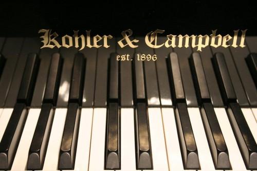 (SOLD) Ebony Gloss Kohler & Campbell 5'2