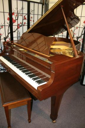 (NEW VIDEO)Yamaha G2  5'8' Grand Piano 1989 Beautiful Walnut $7250.