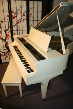 Baldwin Baby Grand Model M (VIDEO) 5'2' Ivory White Gloss 1952 A Classic Excellent $4500