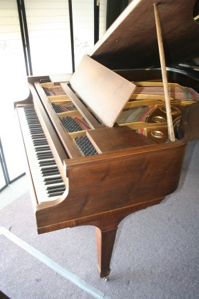 Knabe Baby Grand Piano (VIDEO) Just Refinished/Rebuilt Walnut  $7900.