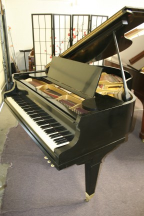 Mason & Hamlin Baby Grand Ebony-Mason & Hamlin 5'3