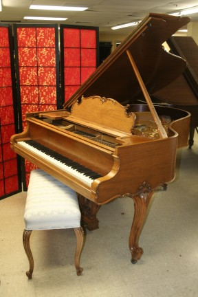 Art Case Steinway Model M Grand Piano King Louis XV Walnut  $21,500.