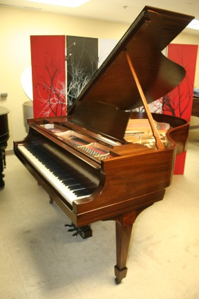 Steinway M Grand Piano, Exotic Grain Mahogany, 1925  just refinished & rebuilt  11/2013 $18,500.