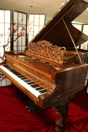 Rare Art Case Steinway Concert Grand Model D  8' 2