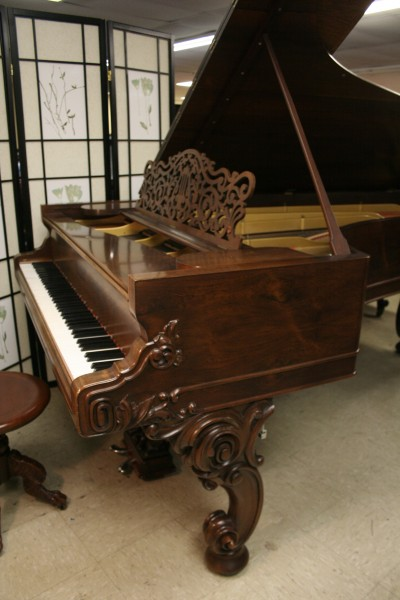 Rare Art Case Steinway Concert Grand  (VIDEO) Model D Rebuilt & Refinished Rosewood $39,000.