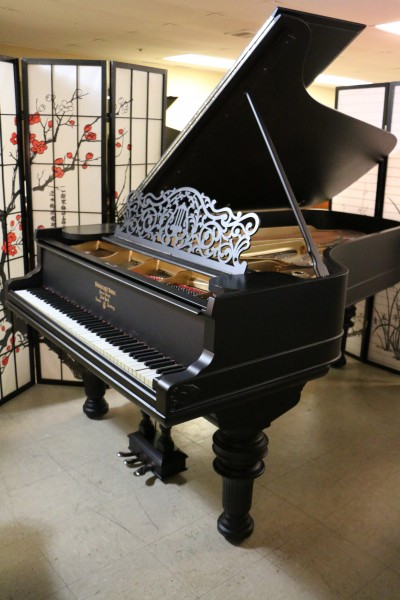 (NEW VIDEO) Art Case Steinway C 7'5
