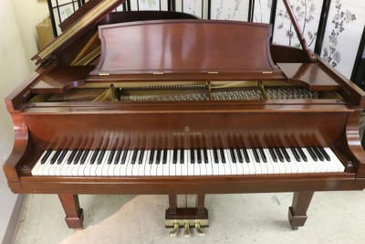 (SOLD) Steinway B Grand Piano, 1961 Beautiful Mahogany, pristine condition, one owner