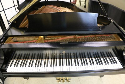 Sonny's Pianos Used Steinway M 1928 Ebony Grand Piano (VIDEO) 13,500 Refubished/Refinished