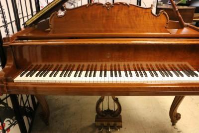 King Louis XV Steinway M Walnut 1982 Pristine $27,500.