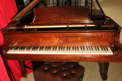 Steinway B Grand Piano Beautiful African Mahogany 1948 one owner, Rebuilt All Steinway Parts Brand New Steinway Hammers (VIDEO COMING) $28,500.