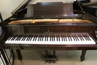 Steinway M Grand Piano (VIDEO) $13,500  Mahogany Rebuilt/Refin.