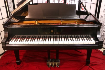 Steinway M Ebony Gloss 1911 Rebuilt/Refinished excellent inside and out.