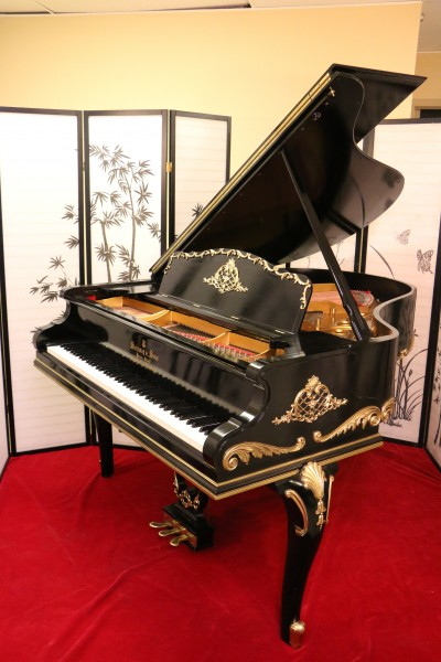 Art Case Steinway Model M Rare, Ornate