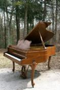 (SOLD Congratulation Lydia & Family) Art Case Baldwin Baby Grand Piano 5'4