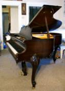 (SOLD) Art Case Baby Grand Piano Mahogany