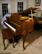 (SOLD)Art Case Baby Grand Piano 4' 7