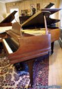 (SOLD) Congratulations Nick! Art  Case Baby Grand Piano-Everett- Art Deco Excellent!