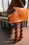 (SOLD)Rare Art Case Steinway Model M Spanish/Mid Eastern Style Reblt/Refin