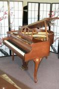 Congratulations Austin Lee SECOND PLACE PRIZE IN SONNY'S 'WIN A FREE PIANO' CONTEST ON FACEBOOK! Art Case Fisher Le Petite Baby Grand Walnut 1984