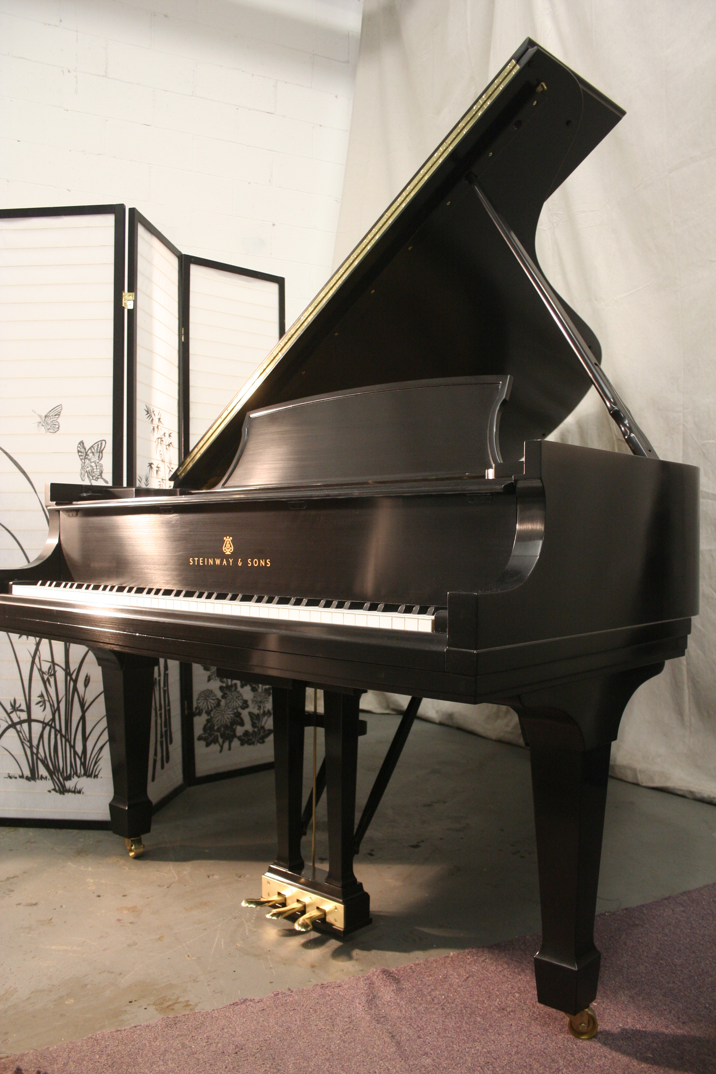 Steinway B 1994 Low Mileage (VIDEO) Rich Tone, Like New, Just Refinished! $32,500