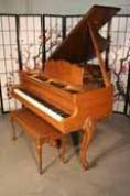 (SOLD) Art Case Sohmer Baby Grand Walnut 1960 Excellent $3900
