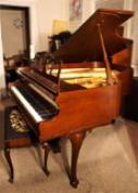 (SOLD)Art  Case Knabe Baby Grand Piano 1973 Walnut $4900. - Free Shipping Before Christmas