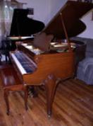 (SOLD)Gorgeous Art Case Weber Baby Grand $5900