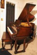 (SOLD)  Art Case Sohmer Baby Grand Piano,