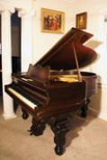 (SOLD) Rare Art Case Rosewood Sohmer Baby Grand 1885,  Sonny Plays