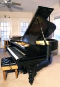 (SOLD) Art Case Steinway Model A 1902, Rebuilt 2008 Sonny Plays an original improvisation with a Classical Music/Spanish Flavor