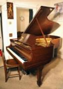 (SOLD-going to California)Steinway Grand Piano Model B, 6' 10