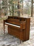 Yamaha (SOLD) We have others! Call for info! 631 475-8046 Yamaha Console Piano Walnut Excellent $1795.