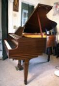 (SOLD)Chickering Baby Grand 5' Mahogany 1942