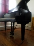 Chickering Baby Grand Ebony/Black 5'1