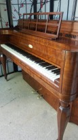 Art Case Steinway Upright Console Piano Beautiful Walnut $2500